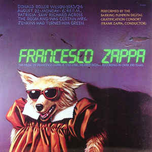 Francesco Zappa - Francesco Zappa - VinylWorld