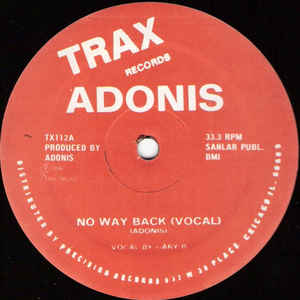 Adonis - No Way Back - VinylWorld