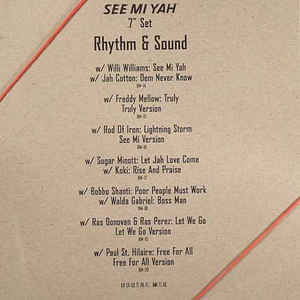 Rhythm & Sound - See Mi Yah - Album Cover