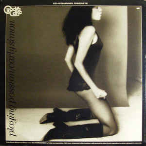 Carly Simon - Playing Possum - Album Cover