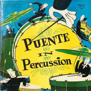 Puente In Percussion - Album Cover - VinylWorld