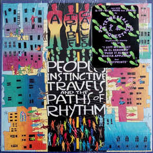 A Tribe Called Quest - People's Instinctive Travels And The Paths Of Rhythm - Album Cover