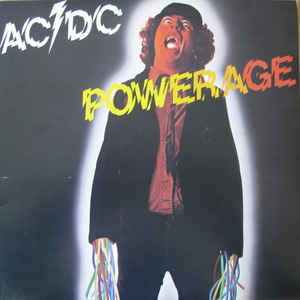 AC/DC - Powerage - Album Cover
