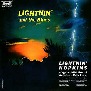 Lightnin' Hopkins - Lightnin' And The Blues - Album Cover