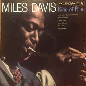 Miles Davis - Kind Of Blue - Album Cover