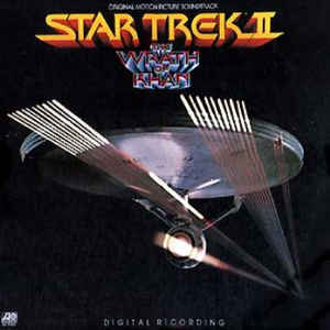 Star Trek II: The Wrath Of Khan - Album Cover - VinylWorld
