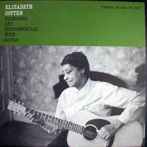 Elizabeth Cotten - Folksongs And Instrumentals With Guitar - Album Cover