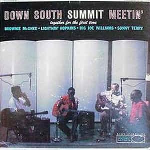 Brownie McGhee - Down South Summit Meetin' - Album Cover