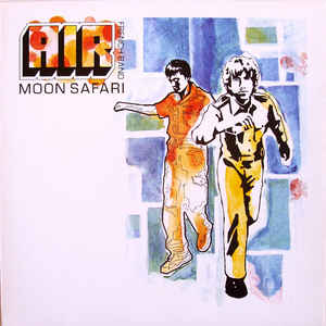 AIR - Moon Safari - Album Cover