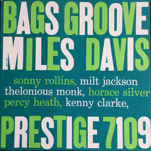 Bags Groove - Album Cover - VinylWorld