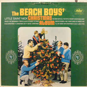 The Beach Boys - The Beach Boys' Christmas Album - Album Cover