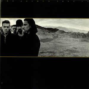 U2 - The Joshua Tree - Album Cover