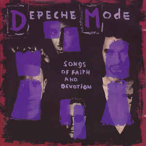 Depeche Mode - Songs Of Faith And Devotion - Album Cover