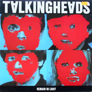 Talking Heads - Remain In Light - Album Cover