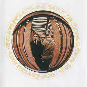 Captain Beefheart And His Magic Band - Safe As Milk - Album Cover