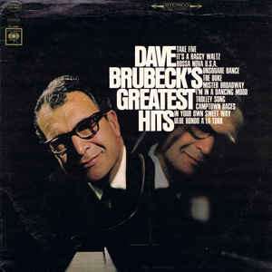 Dave Brubeck's Greatest Hits - Album Cover - VinylWorld