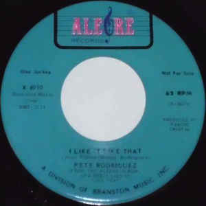 Pete Rodriguez (2) - I Like It Like That - Album Cover