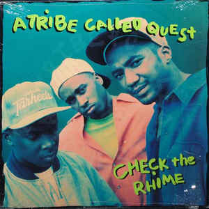 A Tribe Called Quest - Check The Rhime - Album Cover