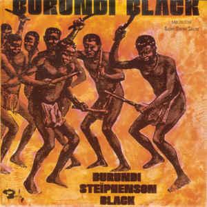 Burundi Black - Album Cover - VinylWorld