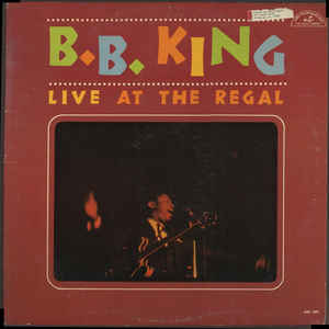 B.B. King - Live At The Regal - Album Cover
