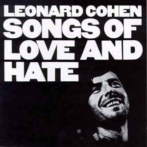 Leonard Cohen - Songs Of Love And Hate - Album Cover
