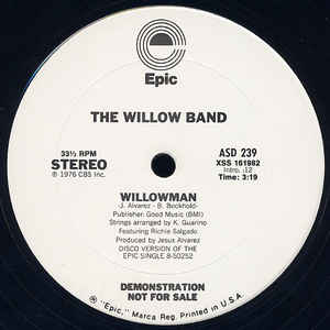 The Willow Band - Willowman - Album Cover