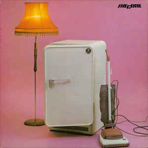 The Cure - Three Imaginary Boys - Album Cover