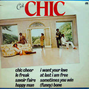 Chic - C'est Chic - Album Cover