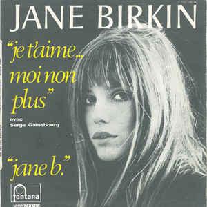 Jane Birkin - Je T'aime... Moi Non Plus - Album Cover