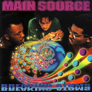 Main Source - Breaking Atoms - Album Cover