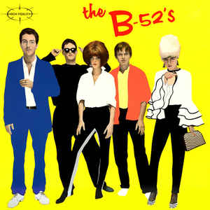 The B-52's - The B-52's - Album Cover