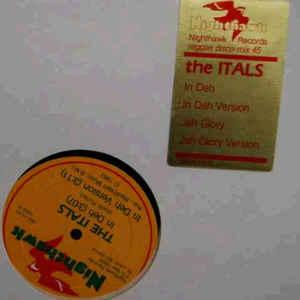 The Itals - In Deh / Jah Glory - Album Cover