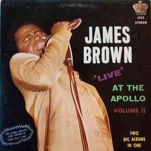 James Brown & The Famous Flames - Live At The Apollo - Volume II - Album Cover