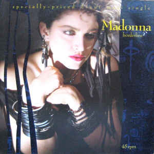 Madonna - Borderline - Album Cover