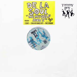 De La Soul - Me Myself And I - Album Cover