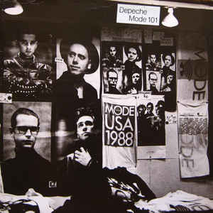 Depeche Mode - 101 - Album Cover