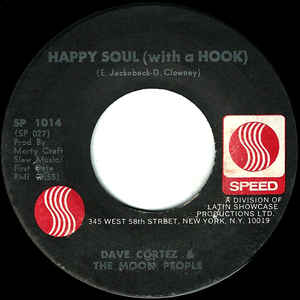"Dave ""Baby"" Cortez - Happy Soul (With A Hook) / Fishin' With Sid - Album Cover"
