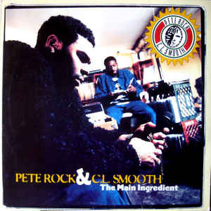 Pete Rock & C.L. Smooth - The Main Ingredient - Album Cover