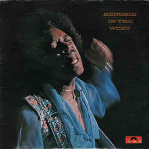 Jimi Hendrix - Hendrix In The West - Album Cover
